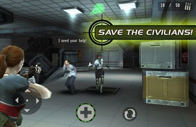 Screenshot Auftragskiller: Zombies 2 auf dem iPhone