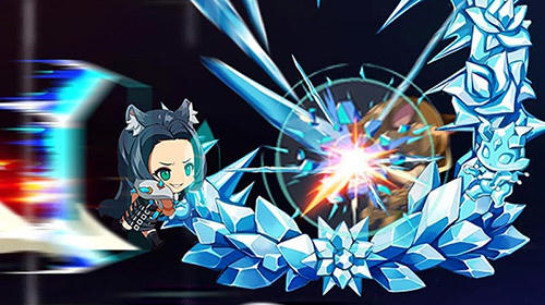 Blustone 2: Anime battle and ARPG clicker game captura de pantalla 3