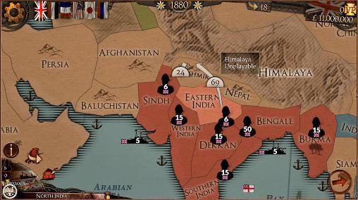 Colonial conquest auf Deutsch