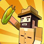 Blocky farm: Corn professional Symbol