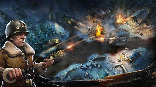 Onlinespiele Rise of armies: World war 2 für das Smartphone