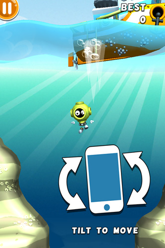 Arcade-Spiele Scuba dupa für das Smartphone