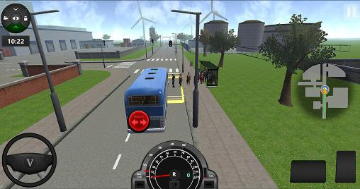 City bus simulator 2016 in English