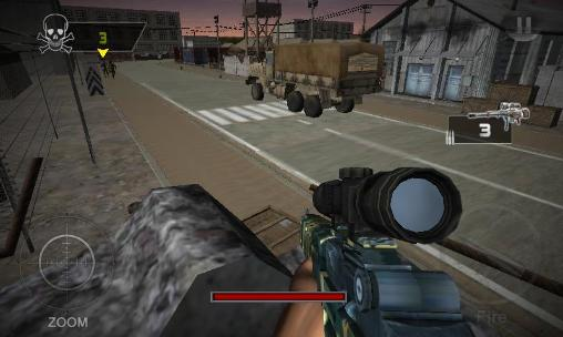 Action The sniper revenge: Assassin 3D für das Smartphone