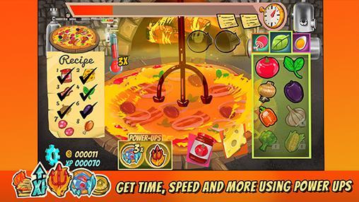 Pizza mania: Cheese moon chase Screenshot