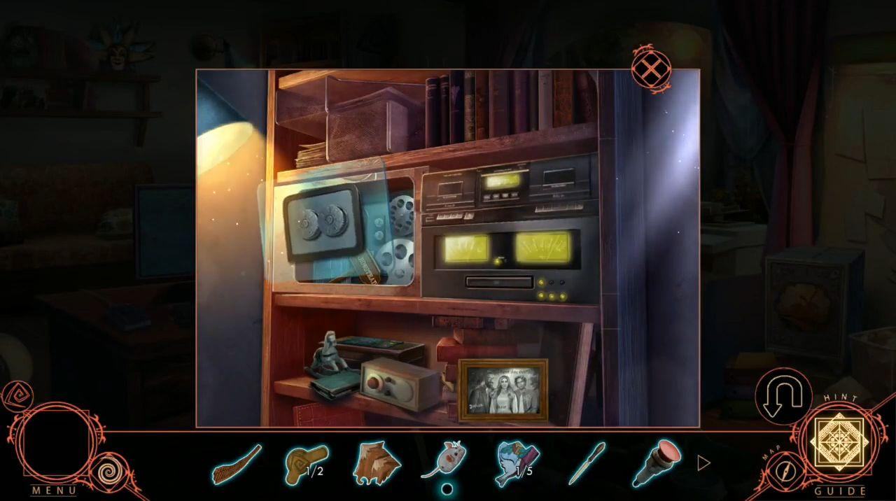 Shadowplay: Harrowstead Mystery (Hidden Object) capture d'écran 1