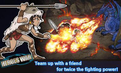 Heroes War für Android