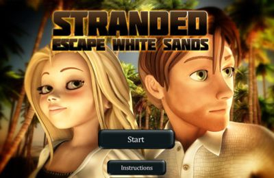 logo Stranded: Escape White Sands