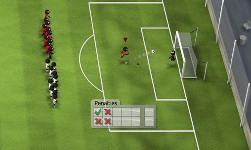 Stickman soccer 2014 captura de tela 1