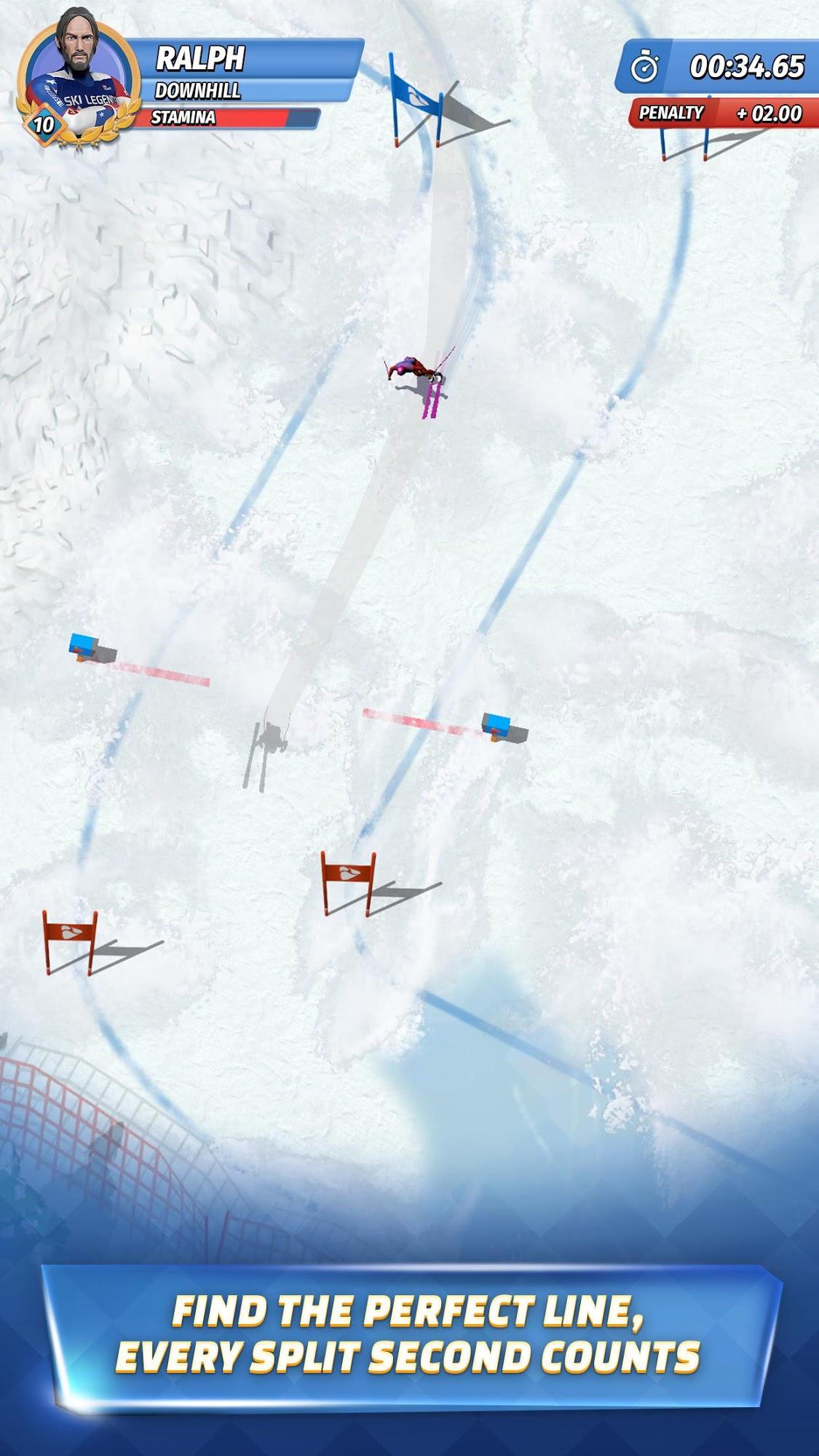 Android spiele Ski Legends