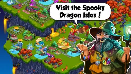 L'Histoire des Dragons:Halloween pour iPhone