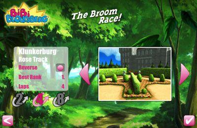 iPhone用ゲーム ビビブロックスベルグ - ほうきでのレース のスクリーンショット