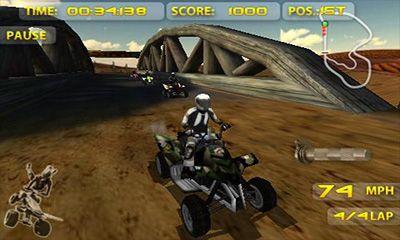 Racing ATV Madness for smartphone