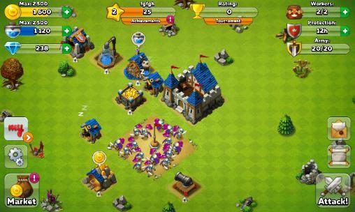 Juegos en línea Might and glory: Kingdom war para teléfono inteligente