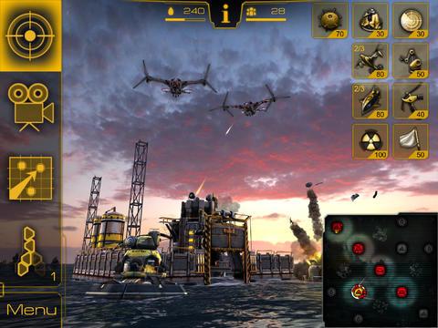Screenshot Kampf ums Erdöl: 3D Strategie auf dem iPhone