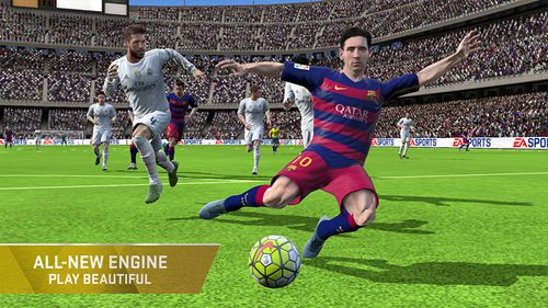 Симуляторы: скачать FIFA 16: Ultimate team на телефон