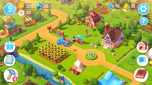 Strategie: spiel Farmville 3: Animals für BlackBerry