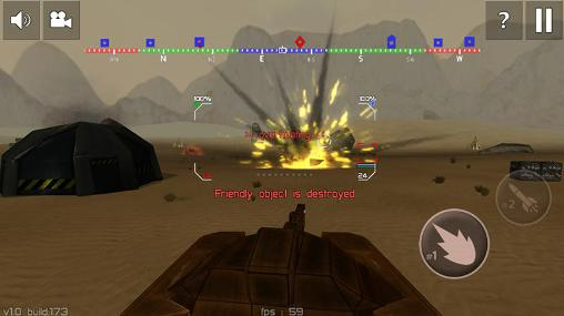 Tank combat: Future battles screenshot 3