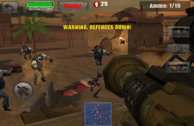 Screenshot Call of the Zombie Sbombers on iPhone