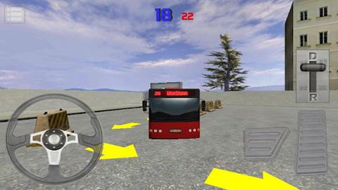 Bus parken 3D für iPhone