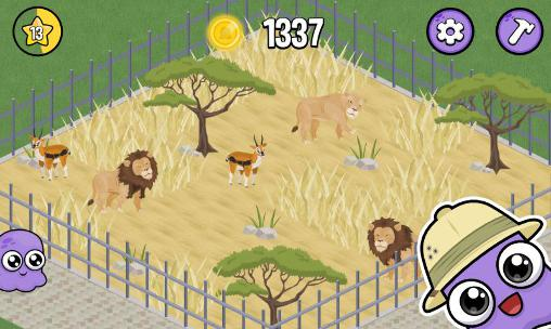 Simulation games Moy zoo for smartphone