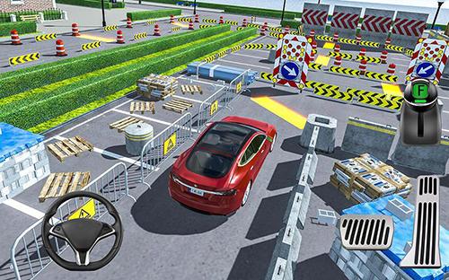 Simulation Crash city: Heavy traffic drive für das Smartphone