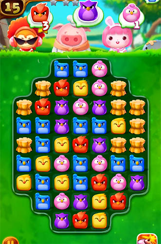 Birds mania: Match 3 screenshot 1
