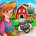 Farm dream: Village harvest paradise. Day of hay Symbol