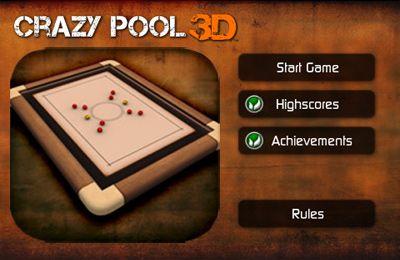 logo Crazy Pool 3D