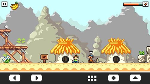 Аркады игры: скачать Vulture island на телефон
