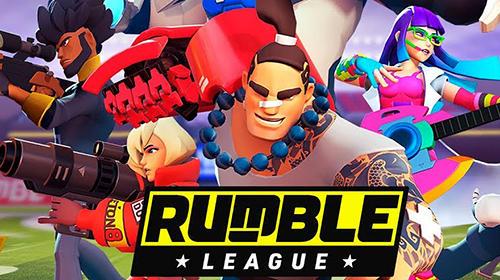 Rumble league captura de tela 1