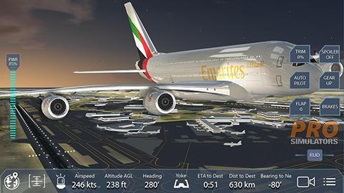 Pro flight simulator NY für Android