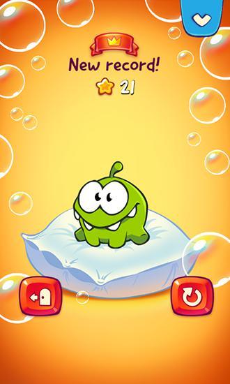 Capturas de tela de Om Nom: Bubbles