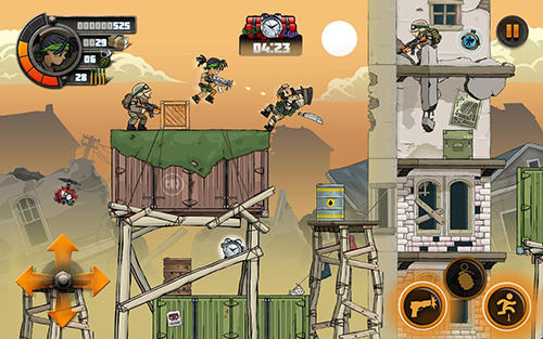 Arcade Metal soldiers 2 for smartphone