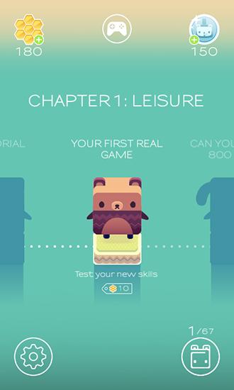 Logik Alphabear: English word game für das Smartphone