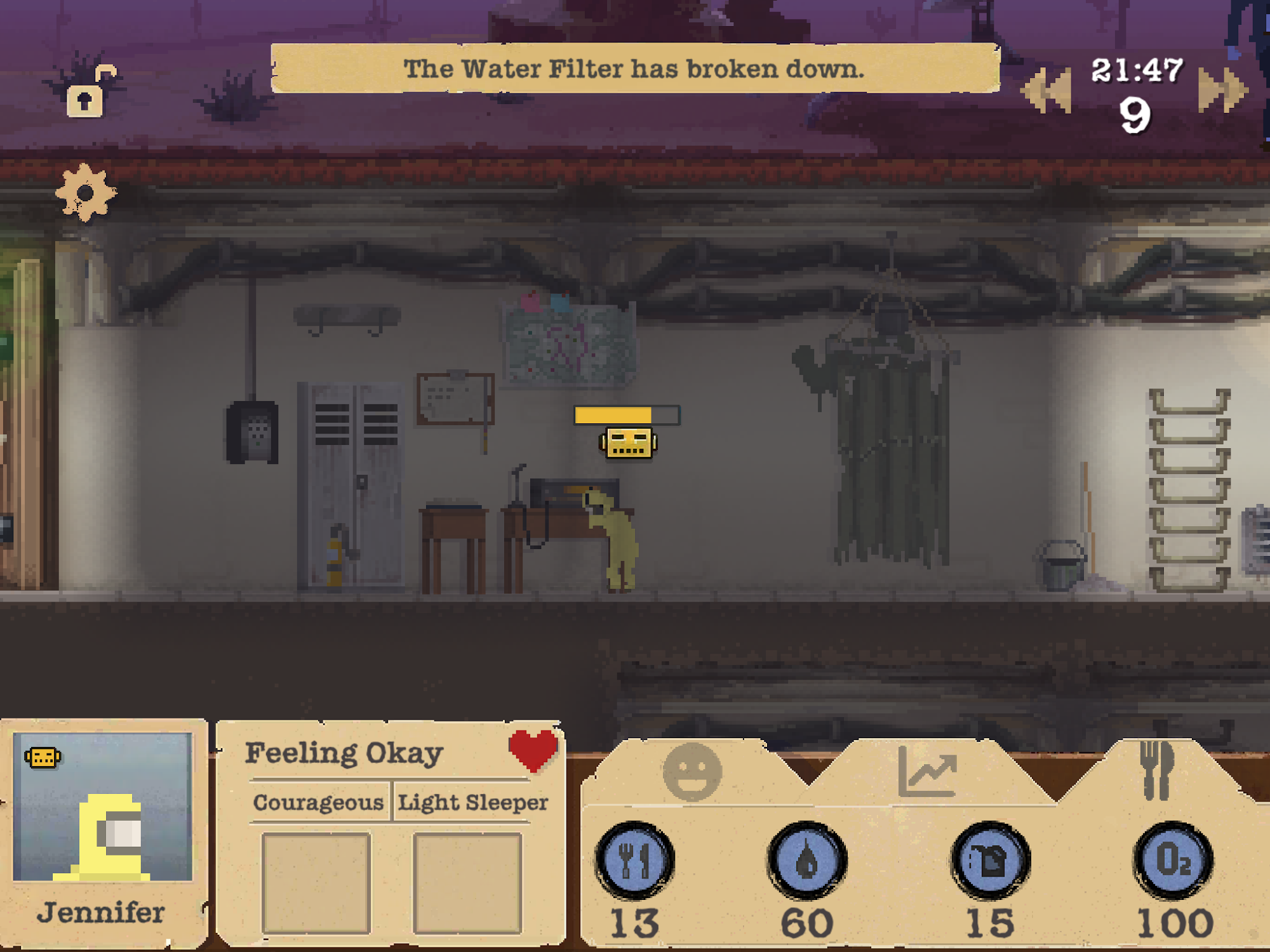 Sheltered screenshot 1