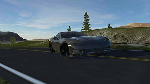 Modern american muscle cars Screenshot