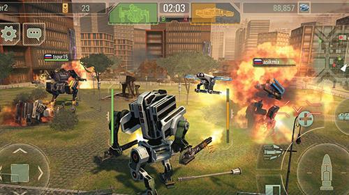 Shooter WWR: World of warfare robots auf Deutsch