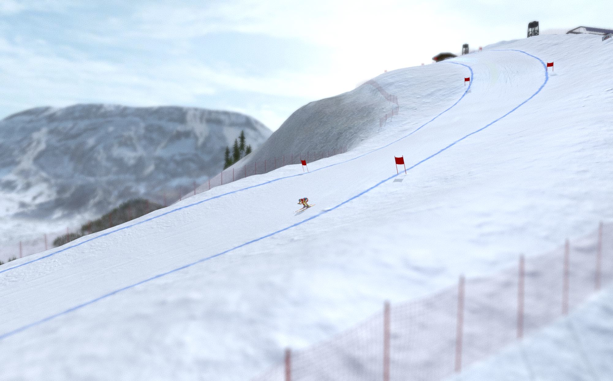 Alpine Arena screenshot 1