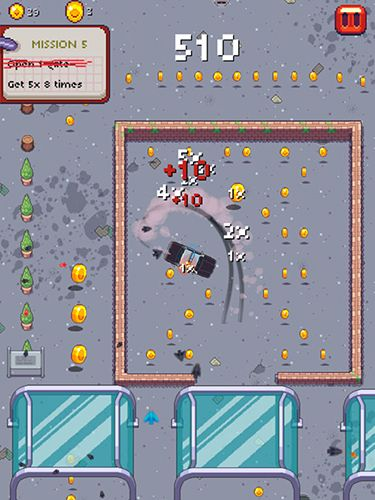 Arcade-Spiele: Lade Pixel Drifter auf dein Handy herunter