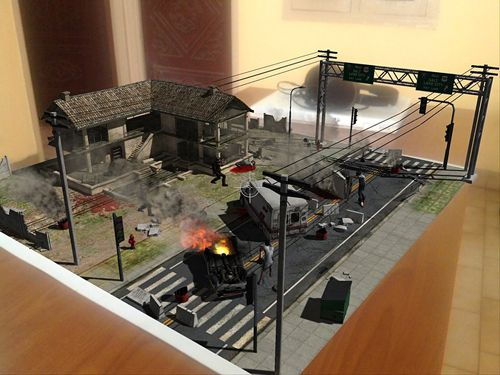 Screenshot Table zombies: Augmented reality game on iPhone