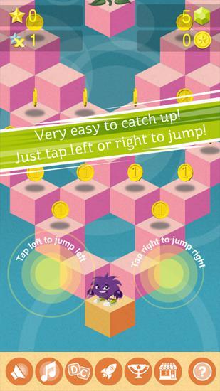 Arcade-Spiele Legend of Eli a furry monster für das Smartphone