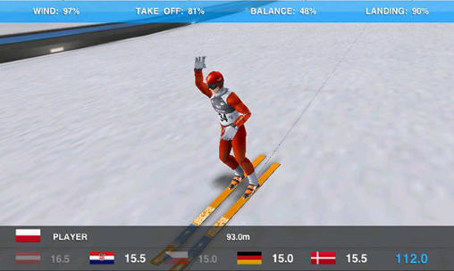 Super ski jump screenshot 4