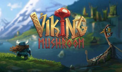 Viking mushroom icon