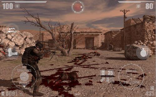 Actionspiele Zombie X apoclypse für das Smartphone