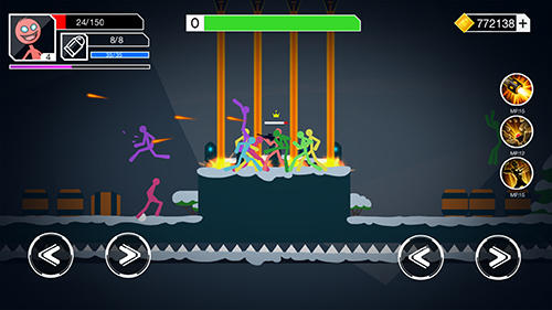 Stickman gunner for Android