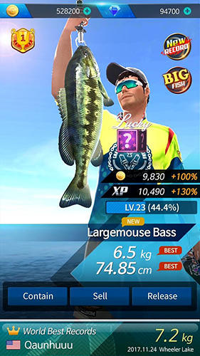 Fishing hook: Bass tournament pour Android