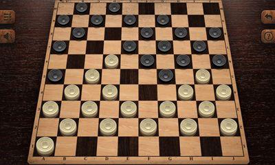 Jogos de tabuleiro Checkers HD em portugues