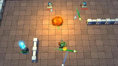 Tank wars screenshot 1
