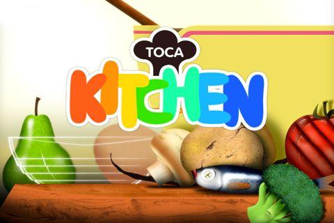 logo Toca: A Cozinha
